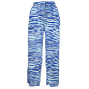 Loose Summer Trousers - Wavey Blue