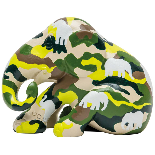Limited Edition Replica Elephant - Camouphant (10cm)