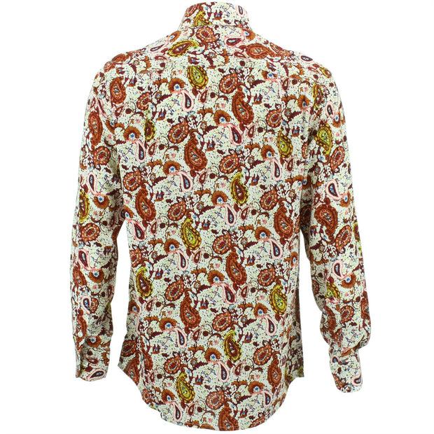 Regular Fit Long Sleeve Shirt - Paisley Blossom