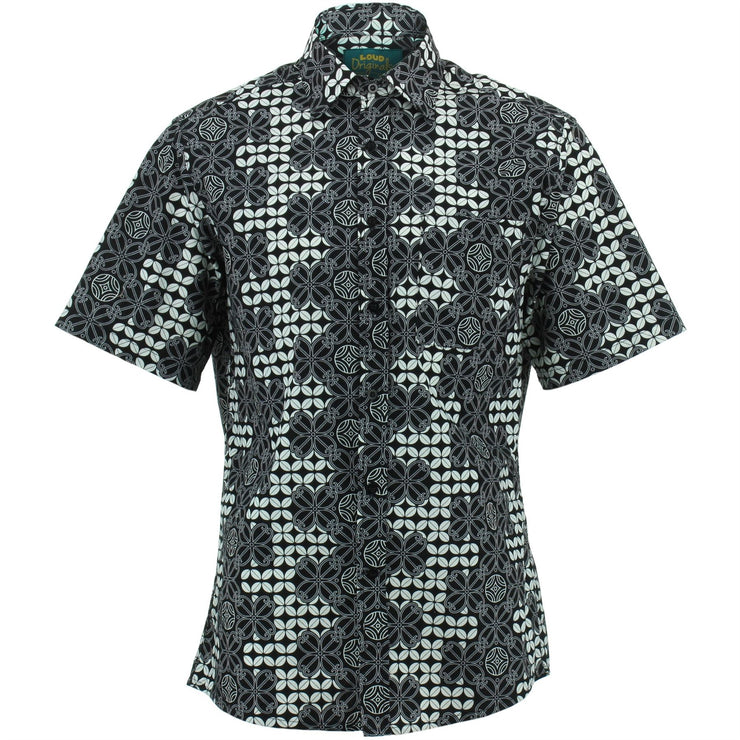 Regular Fit Short Sleeve Shirt - Double Fret