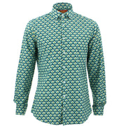 Tailored Fit Long Sleeve Shirt - Swarm