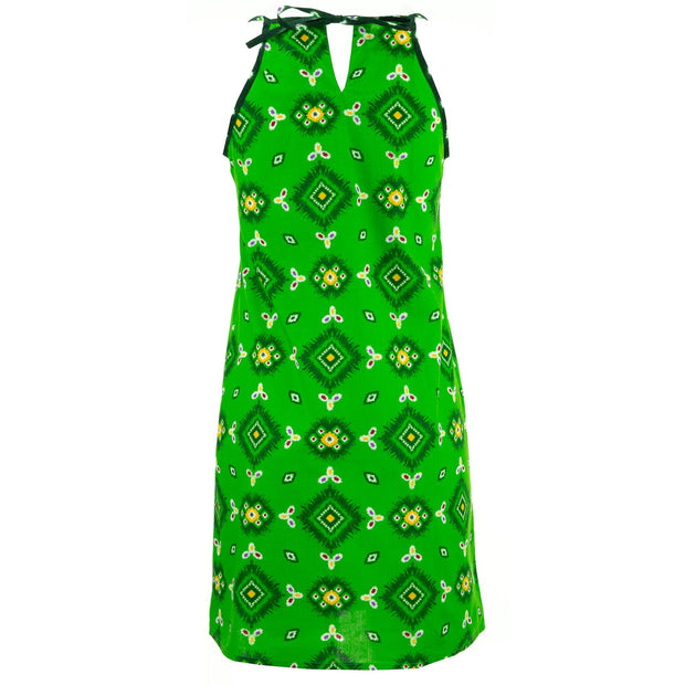 Strappy Dress - Green Explosion