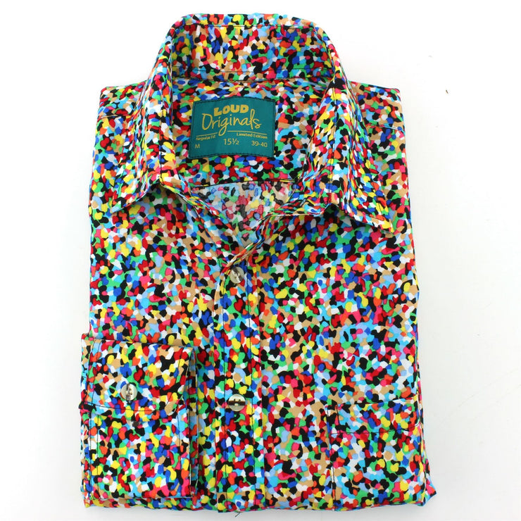 Regular Fit Long Sleeve Shirt - Confetti