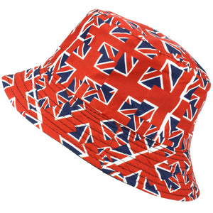 Printed Bucket Hat - Union Jack