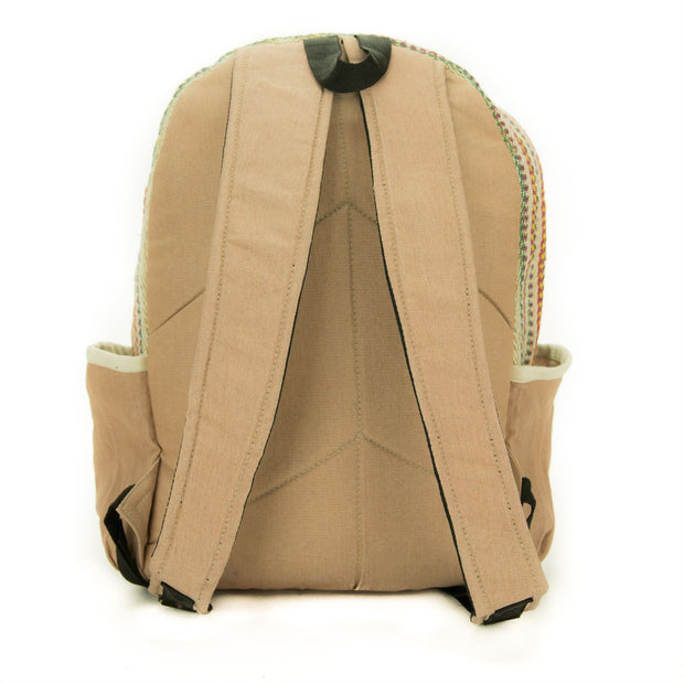 Handmade Natural Hemp Bag - Backpack
