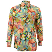 Regular Fit Long Sleeve Shirt - Floral Trip