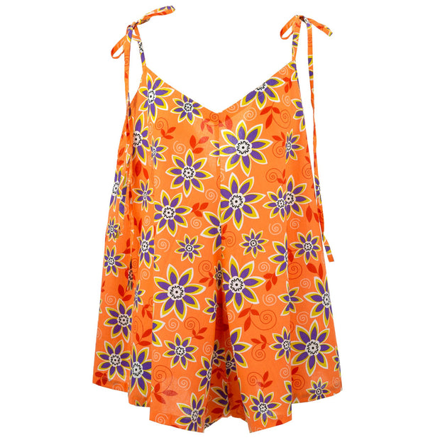 Short Jumpsuit - Summer Floral