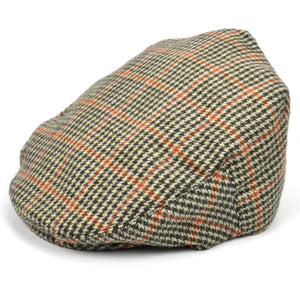 Classic Tweed country flat cap - Light brown