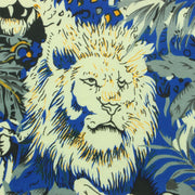 Slim Fit Short Sleeve Shirt - Lion Tiger Jungle