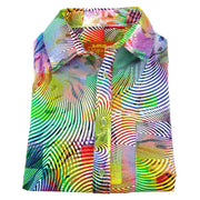 Regular Fit Long Sleeve Shirt - Optical Illusion