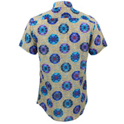 Slim Fit Short Sleeve Shirt - The Eye of the Kaleidoscope