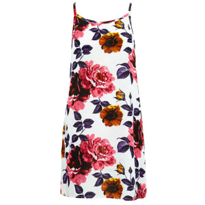 Strappy Dress - Carnation
