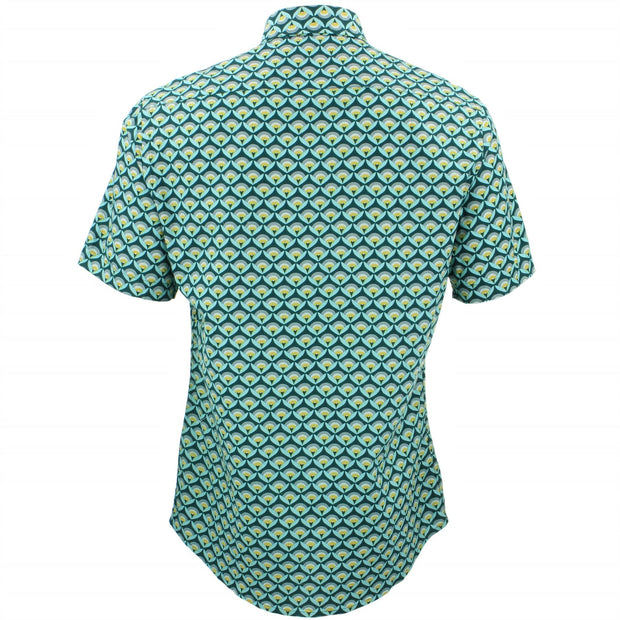 Tailored Fit Short Sleeve Shirt - Swarm