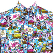 Regular Fit Short Sleeve Shirt - Seaside