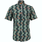 Regular Fit Short Sleeve Shirt - Kaleidoscope