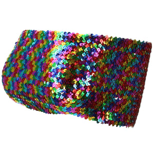 Sequin Boob Tube Top - Rainbow