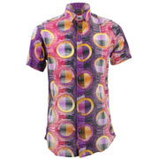 Slim Fit Short Sleeve Shirt - Porthole Blinds