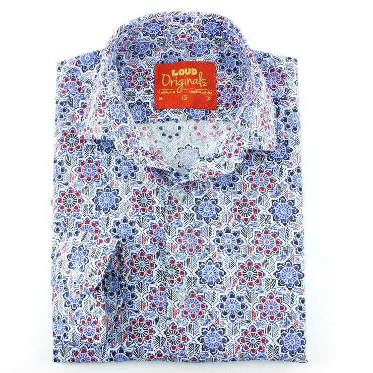 Tailored Fit Long Sleeve Shirt - Regal Floral