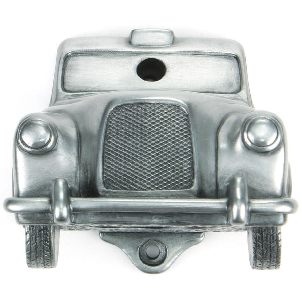 Wall Mounted Character Bottle Opener - Taxi (Silver)