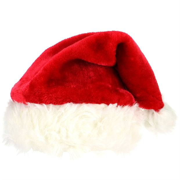 Father Christmas Santa Hat - Classic Red