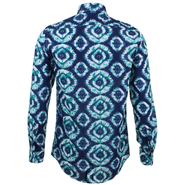 Tailored Fit Long Sleeve Shirt - Eye of the Sea