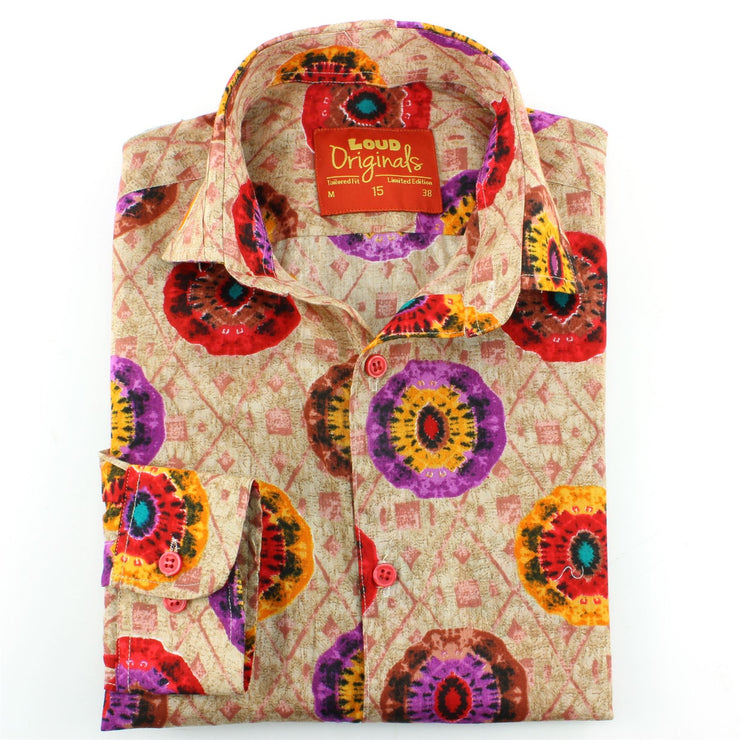 Tailored Fit Long Sleeve Shirt - The Eye of the Kaleidoscope