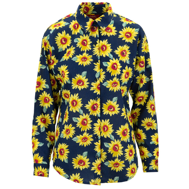 Classic Womens Shirt - Sunflower Burst