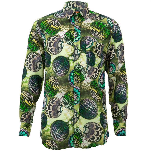 Regular Fit Long Sleeve Shirt - Disco Balls
