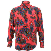 Regular Fit Long Sleeve Shirt - Fractal Suzani