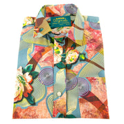 Regular Fit Short Sleeve Shirt - Floral Trip