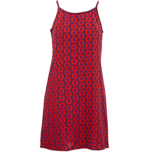 Strappy Dress - Love Chain Red