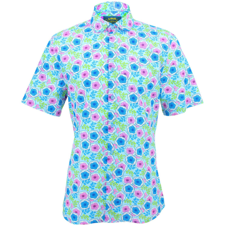 Slim Fit Short Sleeve Shirt - Floral