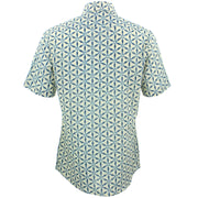 Slim Fit Short Sleeve Shirt - Geodesic
