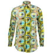 Tailored Fit Long Sleeve Shirt - Porthole Blinds