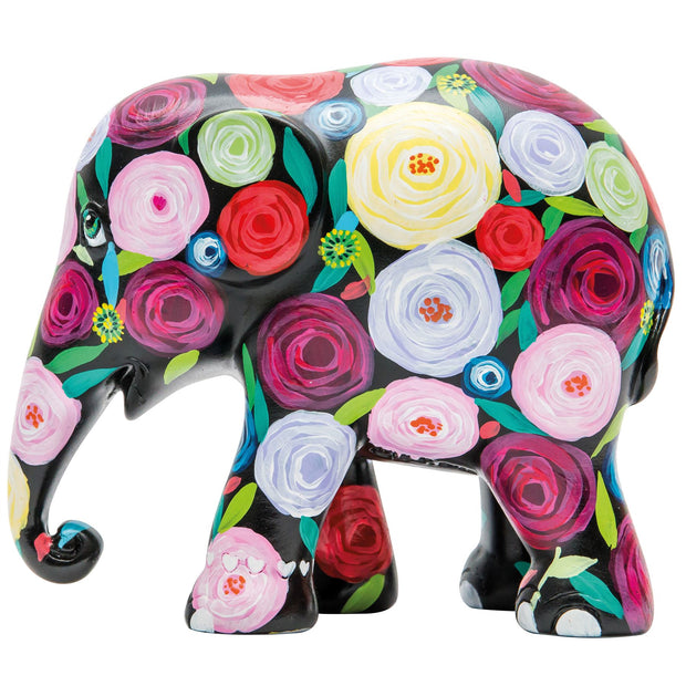 Limited Edition Replica Elephant - Rambling Rose