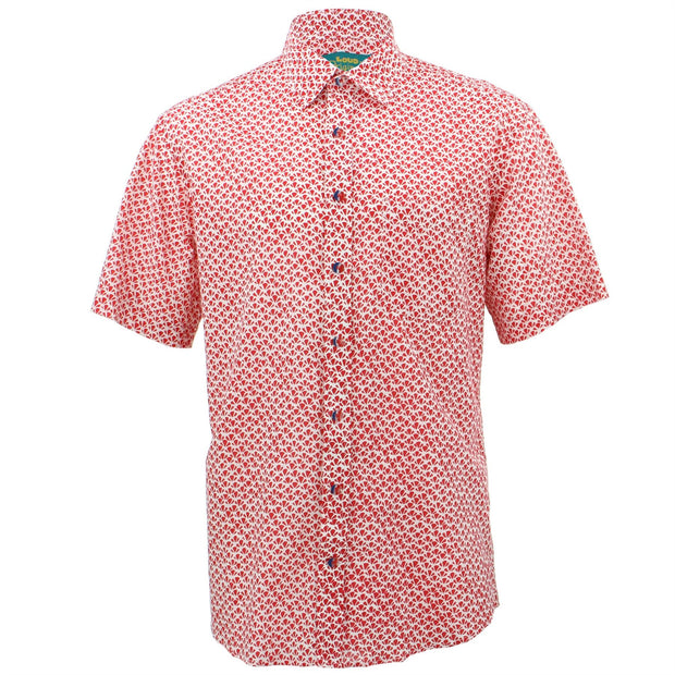 Regular Fit Short Sleeve Shirt - Croissants