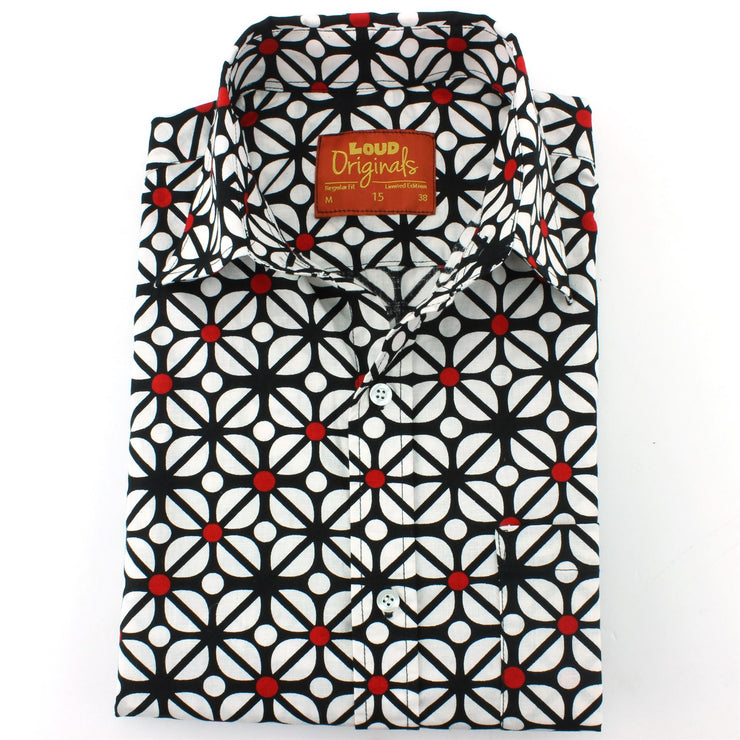 Slim Fit Long Sleeve Shirt - Red Dot Fret