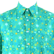 Regular Fit Short Sleeve Shirt - Stars & Circles