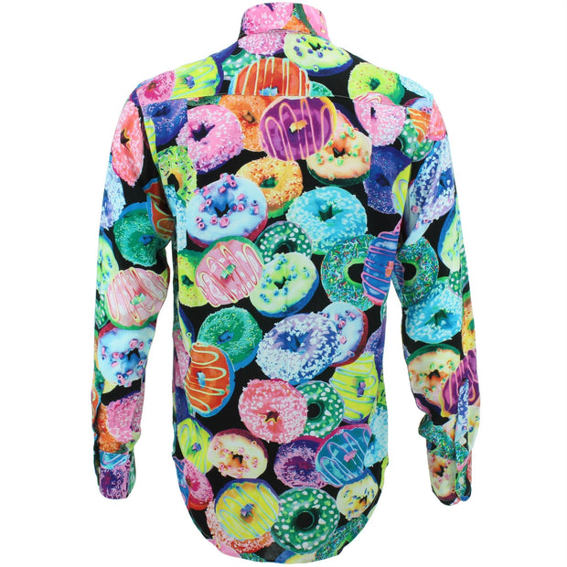 Regular Fit Long Sleeve Shirt - Doughnuts