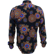 Slim Fit Long Sleeve Shirt - Fractal Suzani