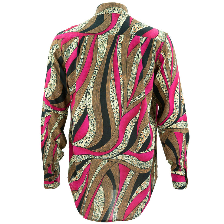 Regular Fit Long Sleeve Shirt - Swirly Wirly