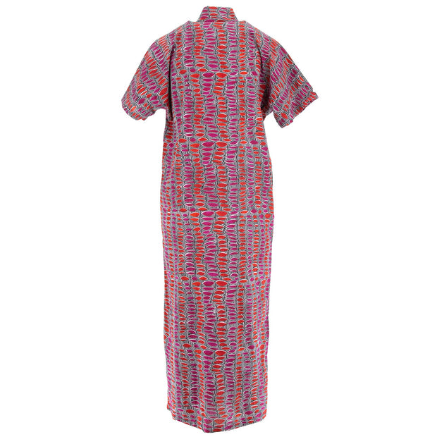 Mandarin Maxi Dress - Colour Burst