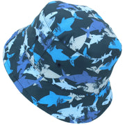 Children's Beach Bucket Hat - Shark