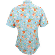 Slim Fit Short Sleeve Shirt - Jacobean Floral