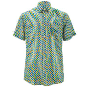 Regular Fit Short Sleeve Shirt - Kites