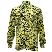 Regular Fit Long Sleeve Shirt - Leopard