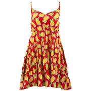 Tier Drop Summer Dress - Pineapple Punch