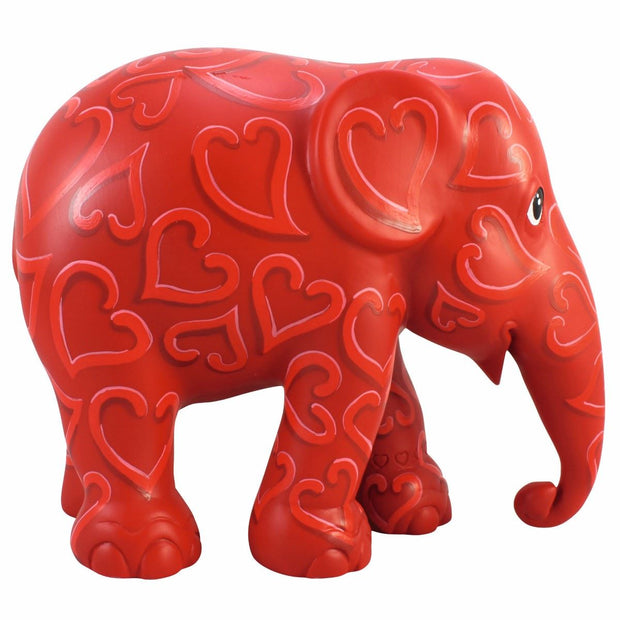 Limited Edition Replica Elephant - Forever Love