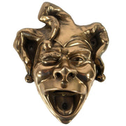 Wall Mounted Character Bottle Opener - Jester (Bronze)