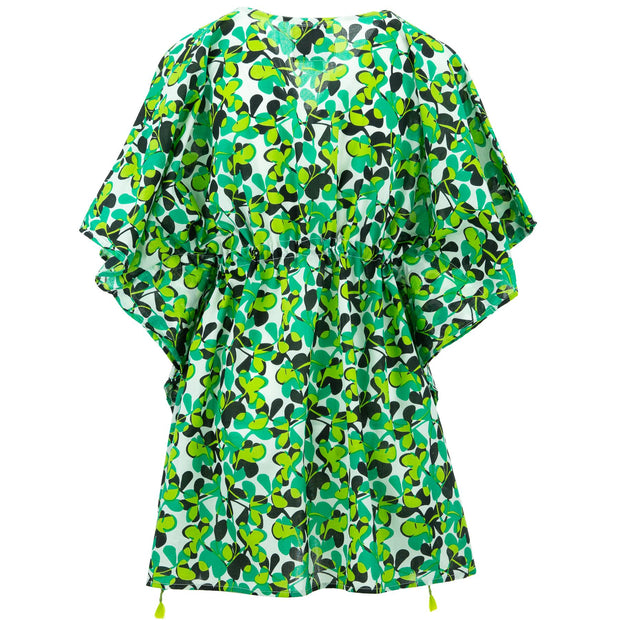 Beach Kaftan Cover-Up - Sprouted Green